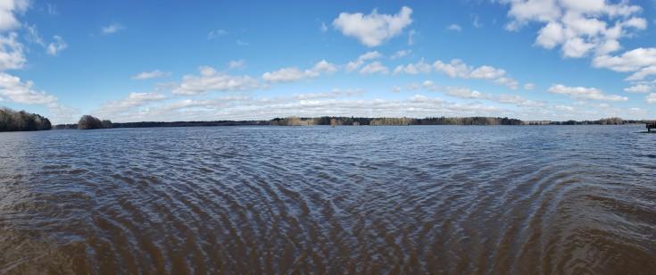 Lake Talquin. Cell Phone Camera.