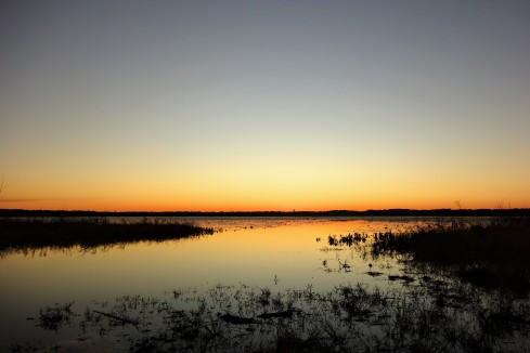 Sunset over Lake Jackson, Tallahassee, Florida